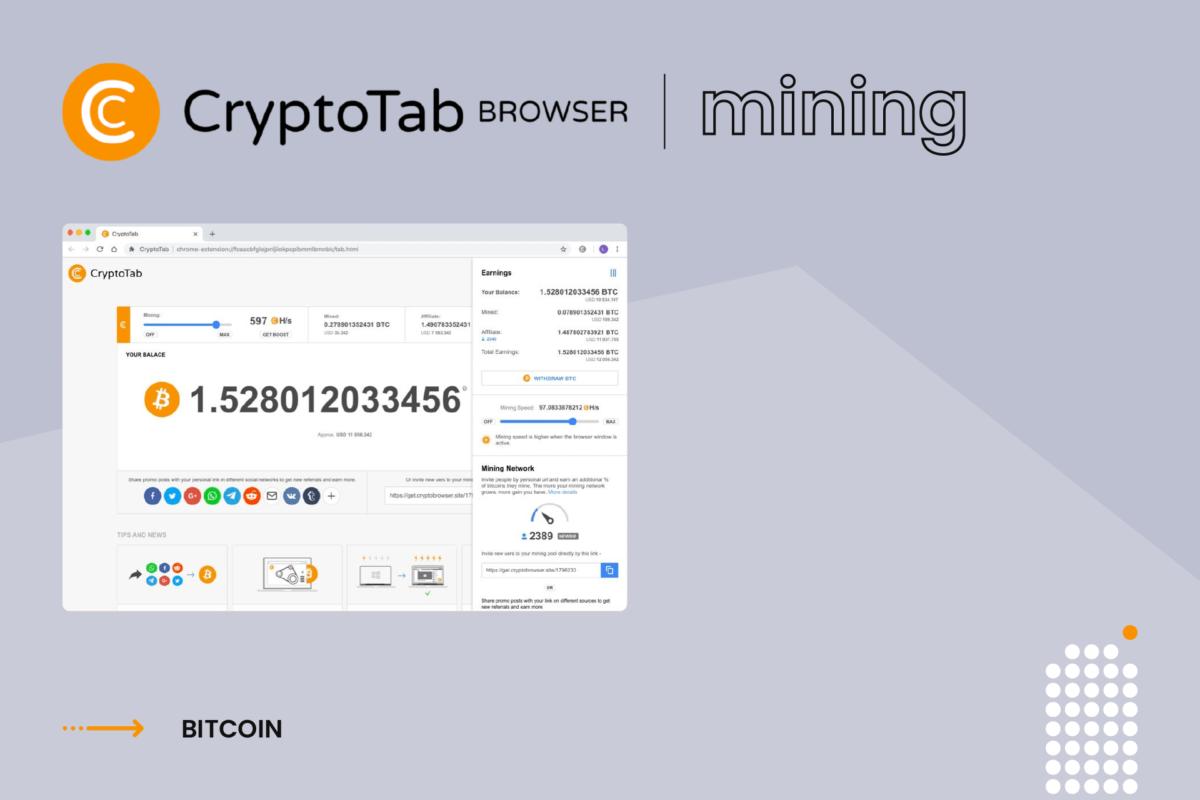is cryptotab legit - browser mining