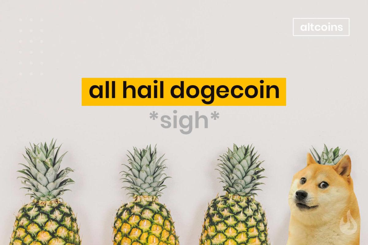 Dogecoin top ten