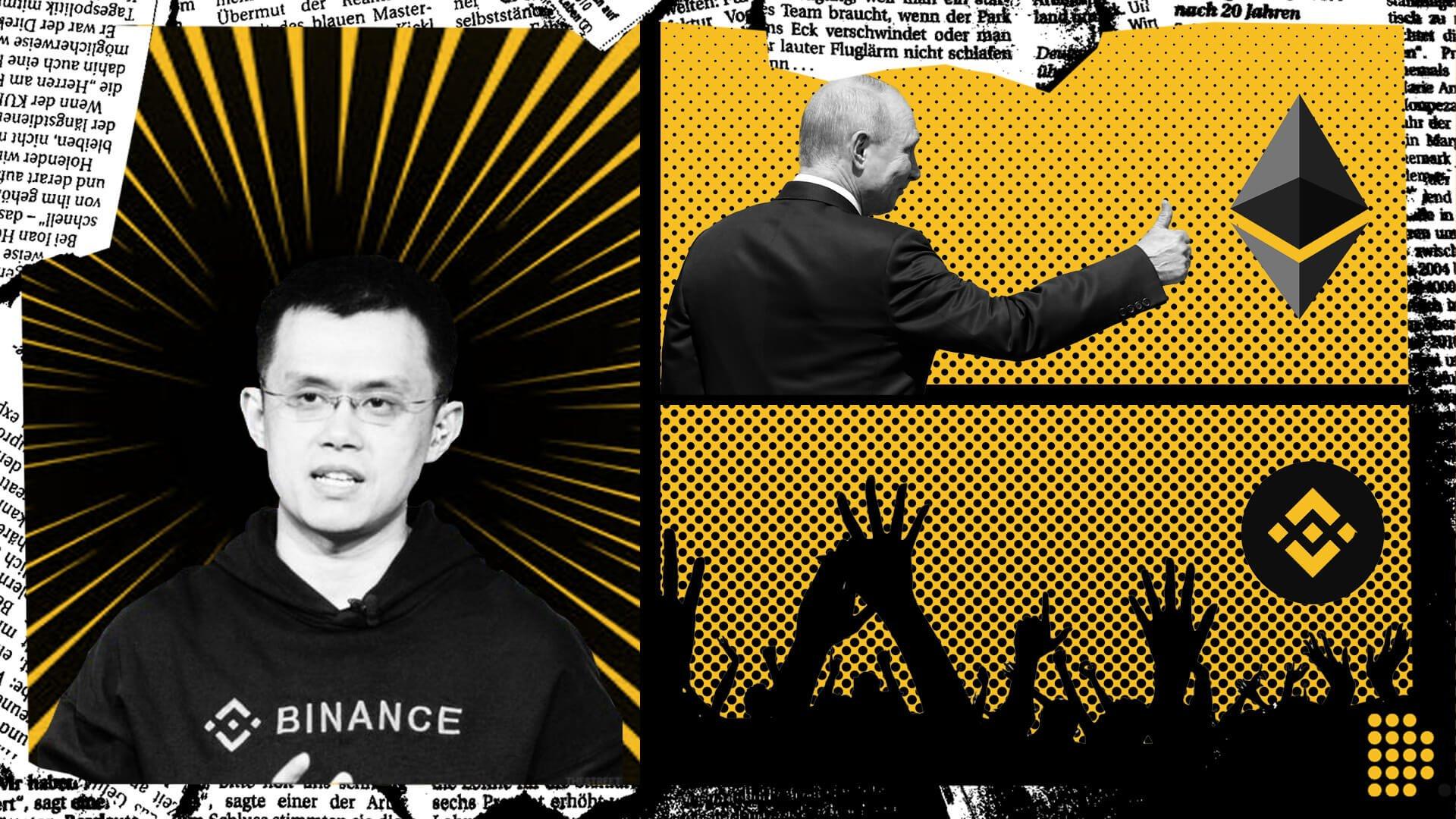 Changpeng Zhao Ethereum PancakeSwap