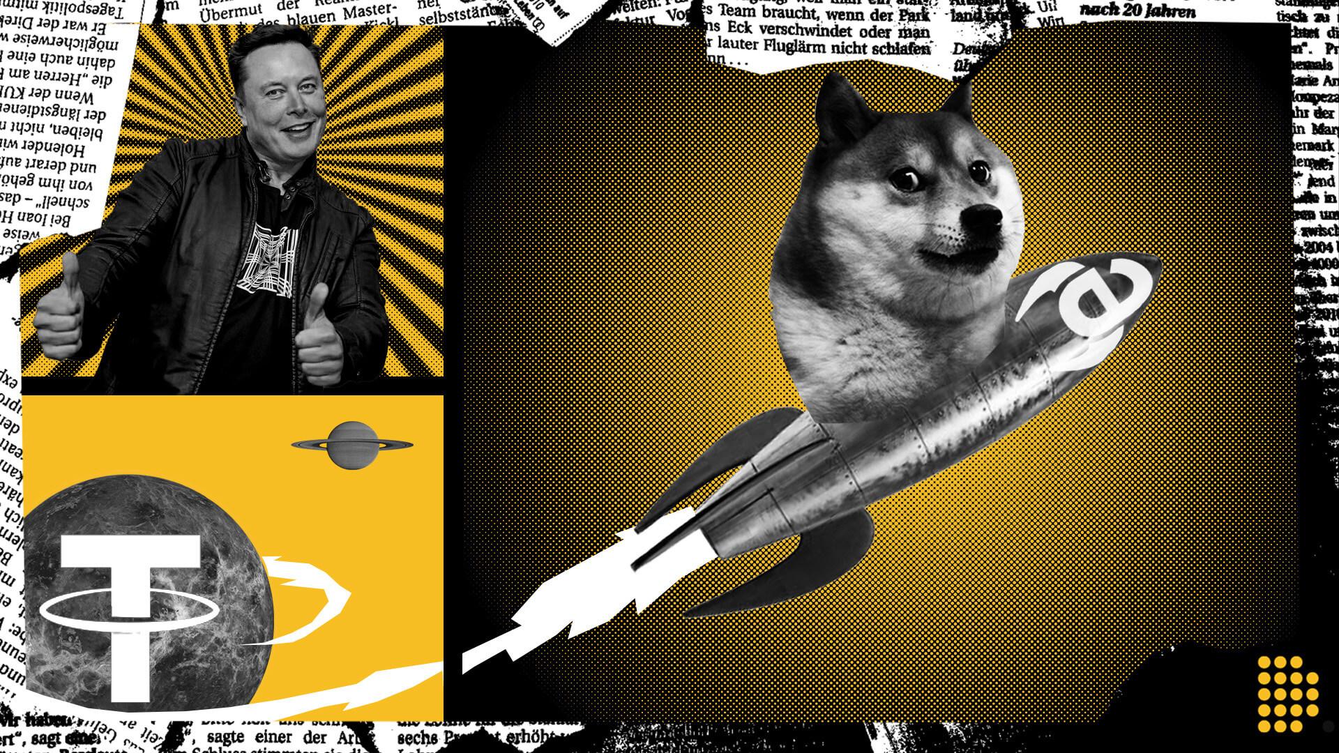 Dogecoin DOGE top 4