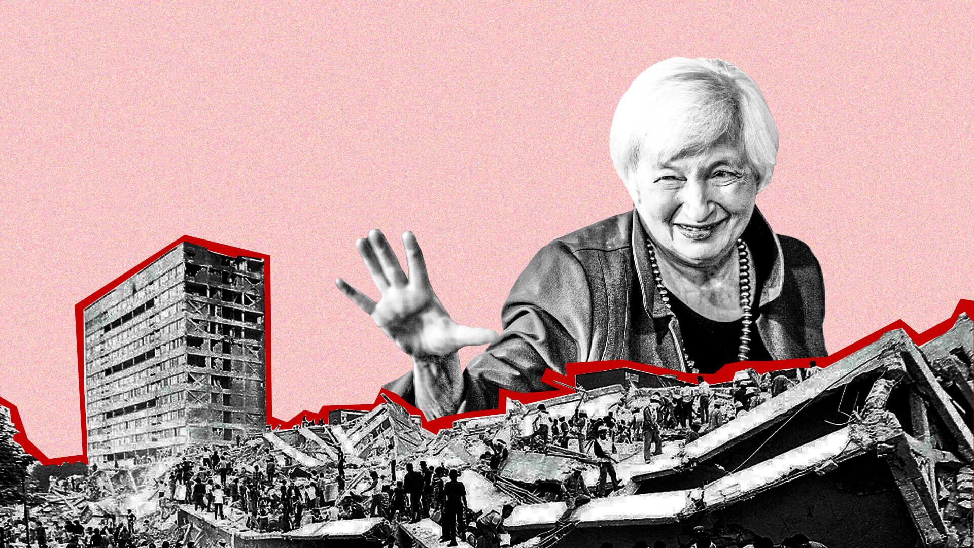 Janet Yellen tanks crypto market