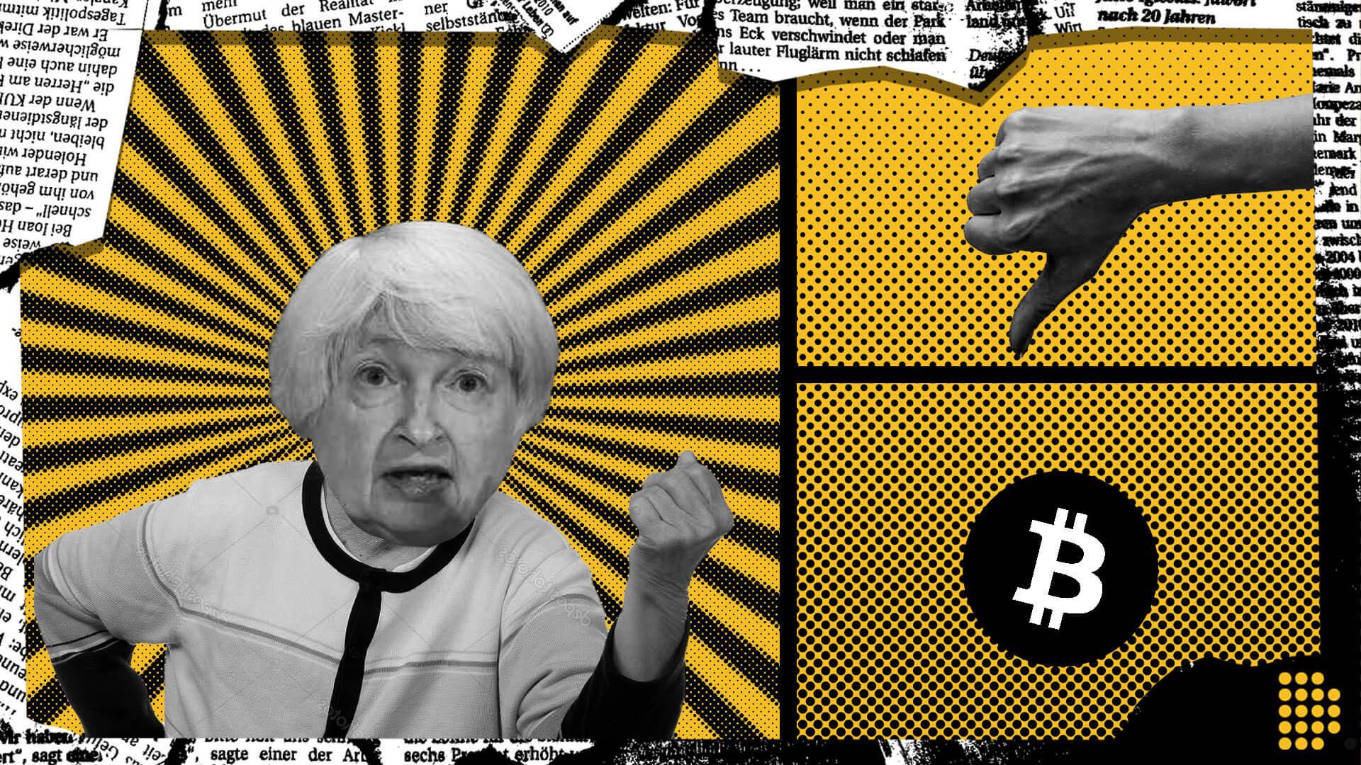 Janet Yellen on bitcoin